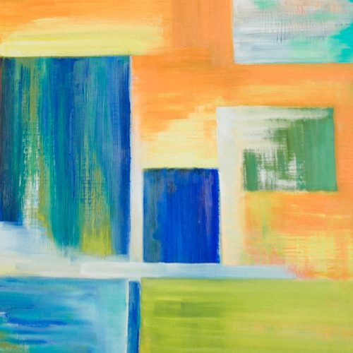 Интерьерная абстракция