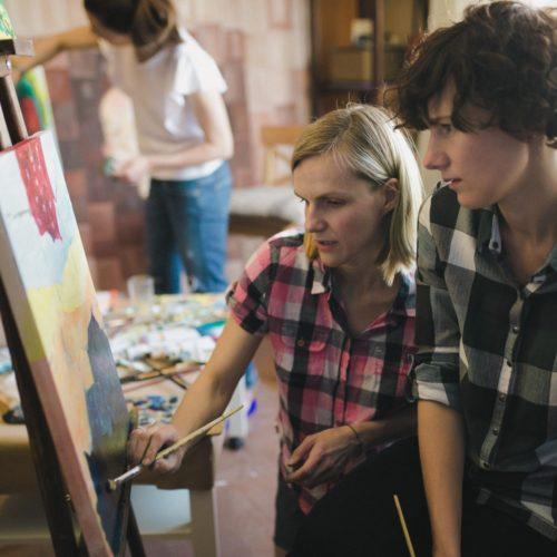 Мастер-классы по живописи для начинающих