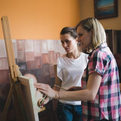 частные уроки живописи