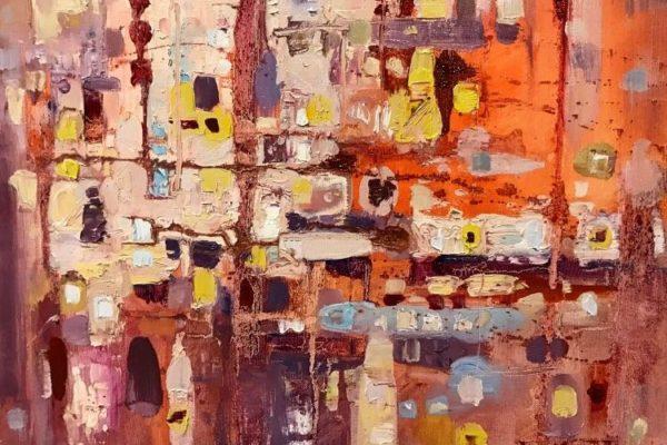 интуитивная абстрактная живопись онлайн уроки